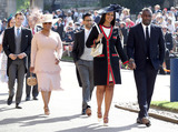 Oprah Winfrey Photo - 19 May 2018 - Oprah Winfrey Idris Elba and Sabrina Dhowre Guests arrive at Windsor Castle for the wedding of Meghan Markle and Prince Harry Photo Credit ALPRAdMedia