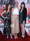Julia Crockett Photo - 01 June 2016 - Los Angeles California - Wrenn Schmidt Julia Crockett Kate Lyn Sheil Arrivals for the Los Angeles premiere for Cinemaxs Outcast held at CINESPIA At Hollywood Forever Cemetery Photo Credit Birdie ThompsonAdMedia