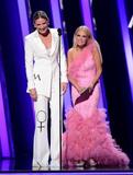 Kristin Chenoweth Photo - 13 November 2019 - Nashville Tennessee - Kristin Chenoweth Jennifer Nettles 51st Annual CMA Awards Country Musics Biggest Night held at Bridgestone Arena Photo Credit Laura FarrAdMedia