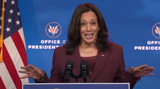 Queen Photo - United States Vice President-elect Kamala Harris delivers remarks after US President-elect Joe Biden Introduced Dr Miguel Cardona as his nominee for Secretary of Education at the Queen Theatre in Wilmington Delaware on Tuesday December 22 2020  Credit Biden Transition TV via CNPAdMedia