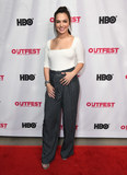 Gomez Photo - 20 July 2019 - Hollywood California - Isabella Gomez 2019 Outfest Los Angeles LGBTQ Film Festival Screening Of Queering the Script held at TCL Chinese Theatre Photo Credit Birdie ThompsonAdMedia