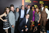 Arsenio Hall Photo - 7 April 2017- Hollywood  California - David Spade Arsenio Hall Rob Schneider Steven Brill Jennifer Hudson Adam Sandler Jane Seymour Terry Crews Sandy Wernick the premiere of Netflixs Sandy Wexler Photo Credit PMAAdMedia