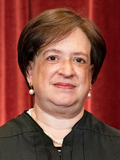 Supreme Court Photo - Associate Justice of the Supreme Court Elena Kagan stands during a group photo of the Justices at the Supreme Court in Washington DC on April 23 2021 Credit Erin Schaff  Pool via CNPAdMedia