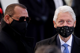 President Bill Clinton Photo - Former US President Bill Clinton and Former baseball player Alexander Rodriguez are seen before the inauguration of Joe Biden as the 46th President of the United States on the West Front of the US Capitol in Washington US January 20 2021 REUTERSJonathan ErnstPoolAdMedia