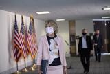 alaska Photo - United States Senator Lisa Murkowski (Republican of Alaska) departs the Senate Republican policy luncheons on Capitol Hill in Washington DC US on Thursday July 23 2020  Credit Stefani Reynolds  CNPAdMedia
