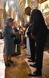 Alexandra Burke Photo - 09032020 - Queen Elizabeth II and Anthony Joshua Craig David and Alexandra Burke Commonwealth Day 2020 Service at Westminster Abbey in London Photo Credit ALPRAdMedia
