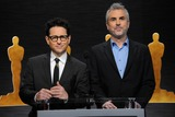 Alfonso Cuaron Photo - 15 January 2015 - Los Angeles California - JJ Abrams Alfonso Cuaron 87th Annual Academy Awards Nominations Announcements Photo Credit Byron PurvisAdMedia