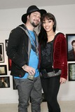Bam Margera Photo - 07 April 2012 - Philadelphia PA - Bam Margera pictured with his girlfriend at his first public exhibition at The James Oliver Gallery Photo Credit Sam WaxStarlitepicsAdMedia
