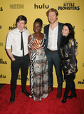 Abe Forsythe Photo - 08 October 2019 - New York New York - Abe Forsythe Lupita Nyongo Alexander England and Jodi Matterson Little Monsters New York Premiere held at AMC Lincoln Square Theater Photo Credit AdMedia