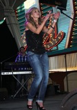 Sarah Darling Photo - 1 April 2011 - Las Vegas Nevada - Sarah Darling ACM Concerts at Fremont Street Experience Photo MJTAdMedia
