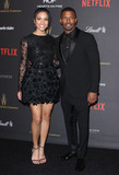 Corinne Bishop Photo - 10 January 2016 - Los Angeles California - Jamie Foxx and daughter Corinne Bishop 2016 Weinstein Company  Netflix Golden Gloves After Party held at the Beverly Hilton Hotel Photo Credit AdMedia