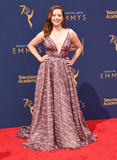 Allison Hannigan Photo - 08 September 2018 - Los Angeles California - Allison Hannigan 2018 Creative Arts Emmys Awards - Arrivals held at Microsoft Theater Photo Credit Birdie ThompsonAdMedia