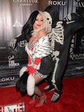 Aubrey ODay Photo - 23 October - Beverly Hills Ca - Aubrey ODay Kyle Massey Arrivals for  MAXIM Magazines Official Halloween Party held at a Private Residence Photo Credit Birdie ThompsonAdMedia