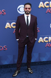 AJ MCLEAN Photo - 15 April 2018 - Las Vegas Nevada - AJ McLean 53rd Academy of Country Music Awards ACM Awards held at  MGM Grand Garden Arena Photo Credit MJTAdMedia