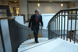 Doug Jones Photo - United States Senator Doug Jones (Democrat of Alabama) leaves a closed door briefing on election security in the Senate SCIF of the United States Capitol in Washington DC US on Tuesday March 10 2020  Credit Stefani Reynolds  CNPAdMedia