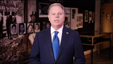 Alabama Photo - In this image from the Democratic National Convention video feed United States Senator Doug Jones (Democrat of Alabama) makes remarks on the first night of the convention on Monday August 17 2020Credit Democratic National Convention via CNPAdMedia