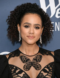 Nathalie Emmanuelle Photo - 28 January 2020 - Beverly Hills - Nathalie Emmanuel 22nd Costume Designers Guild Awards held at Beverly Hilton Hotel Photo Credit Birdie ThompsonAdMedia