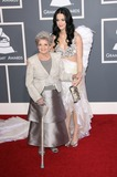 Ann Hudson Photo - 13 February 2011 - Los Angeles California - Katy Perry (R) and her grandmother Ann Hudson The 53rd Annual GRAMMY Awards held at the Staples Center Photo Credit AdMedia Photo AdMedia