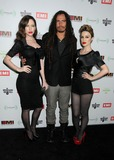 Xhoana Xheneti Photo - 12 February 2012 - Hollywood California - Evis Xheneti James Shaffer Munky Korn Xhoana Xheneti EMI Music 2012 Grammy Awards Party held at Capital Records Tower Photo Credit Byron PurvisAdMedia