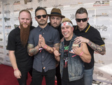Alex Varkatzas Photo - 18 July 2016 - Columbus Ohio - Marc McKnight Travis Miguel Brandon Saller Dan Jacobs and Alex Varkatzas of the band ATREYU attend the Alternative Press Music Awards 2016 held at Jerome Schottenstein Center Photo Credit Jason L NelsonAdMedia