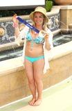 Jamie Anderson Photo - 04 March 2014 - Las Vegas Nevada - Jamie Anderson Gold Medalist Jamie Anderson and her Olympic Snowboarding Friends at Azure Luxury Pool at The Palazzo Las Vegas Photo Credit MJTAdMedia
