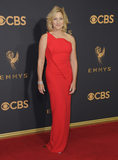 Edie Falco Photo - 17 September  2017 - Los Angeles California - Edie Falco 69th Annual Primetime Emmy Awards - Arrivals held at Microsoft Theater in Los Angeles Photo Credit Birdie ThompsonAdMedia