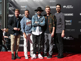 Brian Littrell Photo - 12 April 2019 - Las Vegas NV - BackStreet Boys Brian Littrell AJ McLean Howie Dorough Nick Carter Kevin Richardson Backstreet Boys Hand print ceremony at Planet Hollywood Resort and Casino Photo Credit MJTAdMedia