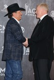Jerry Jones Photo - 06 April 2014 - Las Vegas Nevada - George Strait Jerry Jones 49th Annual Academy of Country Music Awards - Press Room held at the MGM Grand Hotel Photo Credit Byron PurvisAdMedia