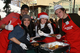 Gilles Marini Photo - 24 December 2010 - Los Angeles CA - Gilles Marini and wife Carole Marini Jennifer Love Hewitt and Alex Beh Christmas Eve For Homeless Served at Los Angeles Mission held At The Los Angeles Mission Photo Kevan BrooksAdMedia