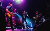 Adam Duritz Photo - 12 May 2015 - Hamilton Ontario Canada  Dan Vickrey (guitarist) Adam Duritz (vocalist) David Immergluck (guitarist) and David Bryson (guitarist) of Counting Crows perform on stage at Hamilton Place Theatre Photo Credit Brent PerniacAdMedia