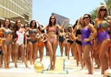 Alyssa Campanella Photo - 23 May 2012 - Las Vegas Nevada - Miss USA 2011 Alyssa Campanella 2012 Miss USA Contestants  Kooey Swimwear fashion how featuring 2012 Miss USA Contestants at the Trump International Hotel  Photo Credit MJTAdMedia