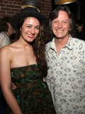 Pete Huttlinger Photo - July 26 2011 - Nashville TN - Alyssa Bonagura and Jeff Hanna Artists musicians and songwriters came together at Mercy Lounge to help raise funds for Pete Huttlinger a widely respected guitarist and Nashville studio artist  Huttlinger has a congenital heart disease and is in need of a heart transplant Photo credit Dan HarrAdmedia