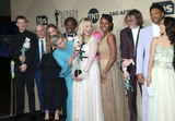 Amanda Warren Photo - 21 January 2018 - Los Angeles California - Lucas Hedges Zeljko Ivanek Samara Weaving Clarke Peters Amanda Warren Malaya Rivera Drew Darrell Britt-Gibson Sandy Martin John Hawkes and Sam Rockwell 24th Annual Screen Actors Guild Awards held at The Shrine Auditorium Photo Credit RetnaAdMedia