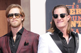 Tyler Hubbard Photo - 01 May 2016 - Inglewood California - Florida Georgia Line Brian Kelley Tyler Hubbard Arrivals for the 2016 American Country Countdown Awards held at The Forum Photo Credit Birdie ThompsonAdMedia