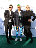 Asher Levin Photo - 23 September 2017 - Santa Monica California - Asher Levin Jaden Smith and Debbie Levin 27th Annual EMA Awards Hosted by Jaden Smith held at Barker Hangar In Santa Monica Photo Credit AdMedia