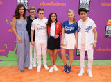 Aidan Miner Photo - 13 July 2017 - Los Angeles California - Jama Williamson Aidan Miner Ricardo Hurtado Breanna Yde Jade Pettyjohn Lance Kim Nickelodeon Kids Choice Sports Awards 2017 held at Pauley Pavilion Photo Credit F SadouAdMedia