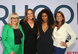 Cindy Chupack Photo - 31 July 2019 - Hollywood California - Patricia Arquette Cindy Chupack Angela Bassett Cathy Schulman Photo Call For Netflixs Otherhood held at The Egyptian Theatre Photo Credit FSadouAdMedia
