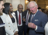 Alexandra Burke Photo - 09032020 - Prince Charles Prince of Wales with Alexandra Burke at the Commonwealth Day Reception at Marlborough House  in London Photo Credit ALPRAdMedia
