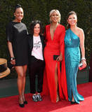 Aisha Tyler Photo - 29 April 2018 -Pasadena California - Aisha Tyler Sara Gilbert Eve Julie Chen 45th Annual Daytime Emmy Awards held at Pasadena Civic Center Photo Credit Birdie ThompsonAdMedia