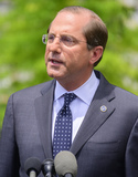 Alex Azar Photo - United States Secretary of Health and Human Services (HHS) Alex Azar makes a statement to reporters after a network interview on the North Driveway of the White House in Washington DC on Friday June 21 2019  Secretary Azar called on the US Congress to pass US President Donald J Trumps supplemental funding package for HHS and the Department of Homeland Security to address the humanitarian crisis on the US southern border Photo Credit Ron SachsCNPAdMedia