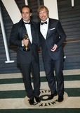 Alexandre Desplat Photo - 22 February 2015 - Beverly Hills California - Alexandre Desplat and Morten Tyldum  2015 Vanity Fair Oscar Party Hosted By Graydon Carter following the 87th Academy Awards held at the Wallis Annenberg Center for the Performing Arts Photo Credit AdMedia