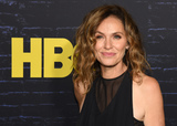Amy Brenneman Photo - 14 October 2019 - Hollywood California - Amy Brenneman HBO Series Premiere of Watchmen held at The Cinerama Dome Photo Credit Billy BennightAdMedia