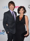 Anel Lopez Photo - 20 March 2014 - Hollywood California - Chris Gorham Anel Lopez-Gorham Arrivals for the Unlikely Heroess Love Is Heroic Spring event at Supperclub in Hollywood Photo Credit Birdie ThompsonAdMedia