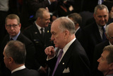 Benjamin Netanyahu Photo - Ronald S Lauder attends a meeting with United States President Donald J Trump and Israels Prime Minister Benjamin Netanyahu in the East Room of the White House in Washington DCon Tuesday January 28 2020 Credit Joshua Lott  CNPAdMedia