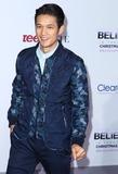 Harry Shum Jr Photo - 18 December 2013 - Los Angeles California - Harry Shum Jr Justin Biebers Believe World Premiere held at Regal Cinemas LA Live Photo Credit Russ ElliotAdMedia