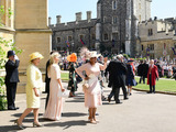 Oprah Winfrey Photo - 19 May 2018 - Norma Major and Oprah Winfrey at St Georges Chapel at Windsor Castle during Prince Harry and Meghan Markle wedding Photo Credit ALPRAdMedia
