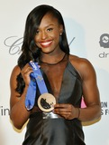 Aja Evans Photo - 02 March 2014 - West Hollywood California - Aja Evans 22nd Annual Elton John Academy Awards Viewing Party held at West Hollywood Park Photo Credit Chris ChewAdMedia