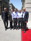 Ron Meyer Photo - 23 June 2015 - Universal City California - Mark Woodbury Larry Kurzweil Steve Burke Ron Meyer Tom Williams Fast  Furious - Supercharged Thrill Ride Launch Event held at Universal Studios Photo Credit F SadouAdMedia
