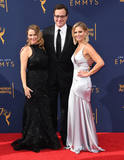 Candace Cameron-Bure Photo - 08 September 2018 - Los Angeles California - Andrea Barber Bob Sagat Candace Cameron Bure 2018 Creative Arts Emmys Awards - Arrivals held at Microsoft Theater Photo Credit Birdie ThompsonAdMedia