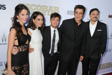 Claudia Traisac Photo - 22 June 2015 - Hollywood California - Laura Londono Claudia Traisac Josh Hutcherson Benicio del Toro Carlos Bardem Escobar Paradise Lost Los Angeles Premiere held at Arclight Cinemas Photo Credit Byron PurvisAdMedia